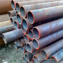 Tube en acier au carbone noir avec des conduites de prix compétitives de Liaocheng Chengsheng Steel Pipe Company