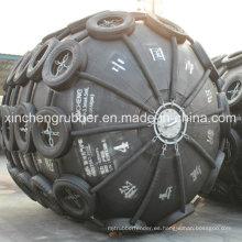 Envíe la defensa de goma neumática marina usada, guardabarros inflable