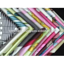"""Tissu 100% Coton / Imprimé / Sergé 2/1 / Largeur: 63 """"/ Poids: 141 g / m2"""