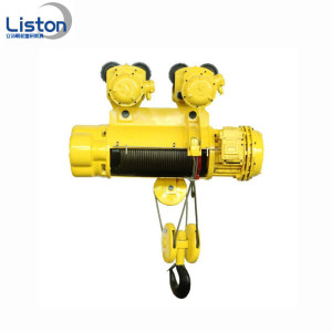 Konstruktion MD1 Electric Wire Rope Hoist Rulle System