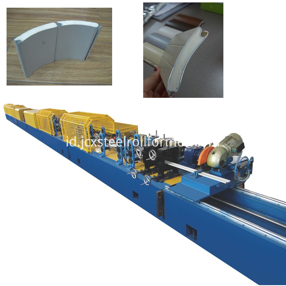 Pu Shutter Door Forming Machine