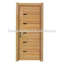 porta interior da madeira da escada da melamina da decoração home