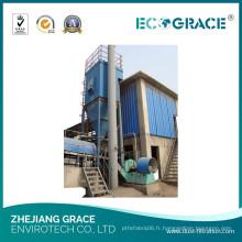 Collecteur de poussière d'usine de mélange d'asphalte, filtre à poussière de cyclone de 10mg / M3