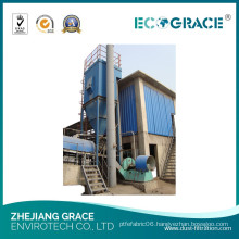 Asphalt Mixing Plant Dust Collector, 10mg/M3 Cyclone Dust Filter