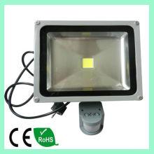 Luz de inundación del LED brillante estupendo LED inundaciones luz 30W luz de inundación al aire libre de LED de alta calidad PIR