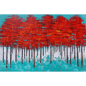 Abstract Oil Painting for Trees (ZH4009)