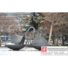 Parc Sculpture Bronze plus gai