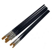 8pcs Nylon Hair Art Paint Brushes Set Detail Brushes Set Artist