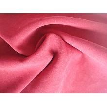 Plain Satin Peach Polyester Fabric