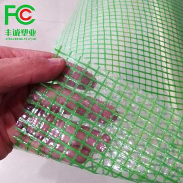 Plástico de andamio de lona de polietileno tejido de HDPE