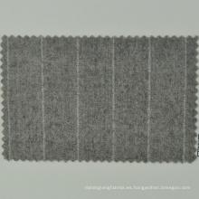 Lana de lana merino de color natural ecológico amistoso de la raya Loro Cadini de la marca italiana de la tela para los paños de los hombres