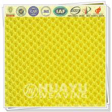 1687 100% tela de rayas de poliéster para guantes