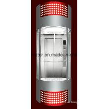 Profesión y cómodo elevador panorámico (JQ-A035 (B))
