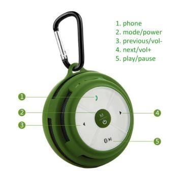 Haut-parleur Bluetooth extérieur avec Super Bass Sound (BTS200)