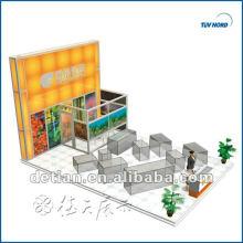 6m*9m aluminium exhibition booth manufacture for rent