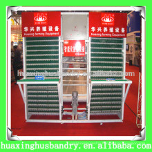 Battery chicken egg collecting machine for chicken house
