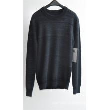 100% кашемир с длинным рукавом круглый вырез вязание свитер для мужчин