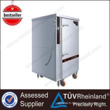 Équipement chaud de cuisine de vente 1 vapeur électrique industrielle de vapeur de vapeur de vapeur de la porte 12-Tray