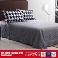 133*72 Printed Black White Duvet Cover for Hotel/Home Use
