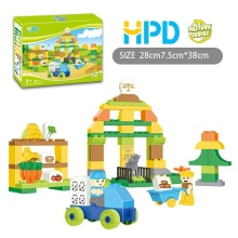 69 PCS Building Blocks Farm Scene