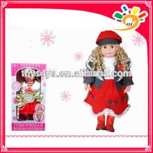 New intelligent conversation toys talking & speaking doll