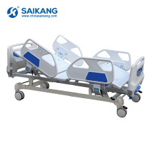 Lit d'hôpital manuel de SK013 avec la manivelle d'ABS