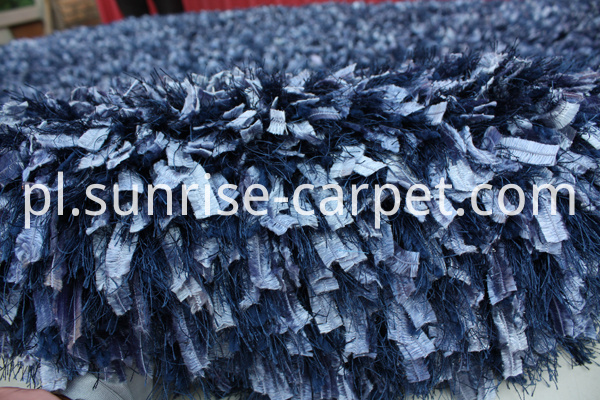 Silk Feather Elastic Mix Yarn Shaggy Rug