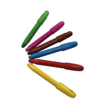 12colors à base d'eau non toxique pour enfants face au crayon de peinture