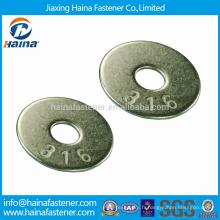 JIS B 1256 SS316 Grandes rondelles simples / Rondelles carrées zinguées