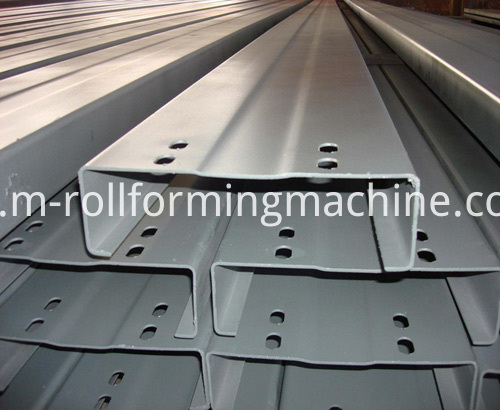 C channel purlin roll forming machine