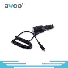 Adaptateur de chargeur de voiture universel coloré avec câble