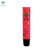 oblique section lipstick balm plastic tube packaging