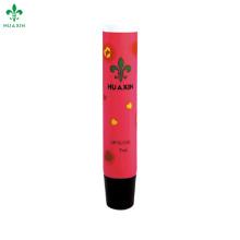 embalagem de tubo de plástico de bálsamo de batom de seção oblíqua