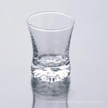Großhandelsklares Schnapsglas mit Löffel in der Masse