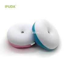2017 gadgets do bebê IPUDA luz da noite cogumelo com built-in 2600 mAh bateria recarregável zero toque controle regulável magia