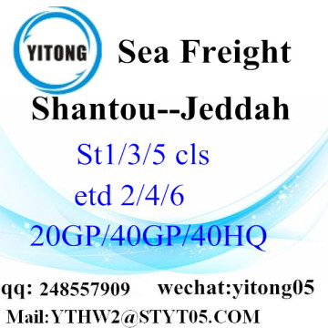 Sea Freight Rate Shantou a Jeddah