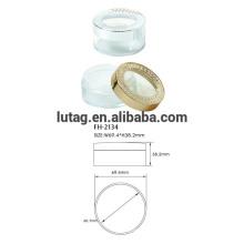 Plastic Cosmetic Loose Powder Case