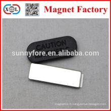 Chine de fabricants nom insigne aimant