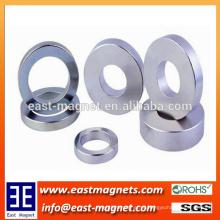 Anel Forte Neodímio NdFeB ímãs N35 OD20 x ID12.5 x 3mm / ímã anel personalizado