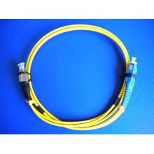 Câble de raccordement de fibre Câble Sc / FC Duplex 2.0mm