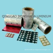 Blister de aluminio farmacéutico