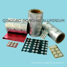 Folha de blister de alumínio farmacêutico