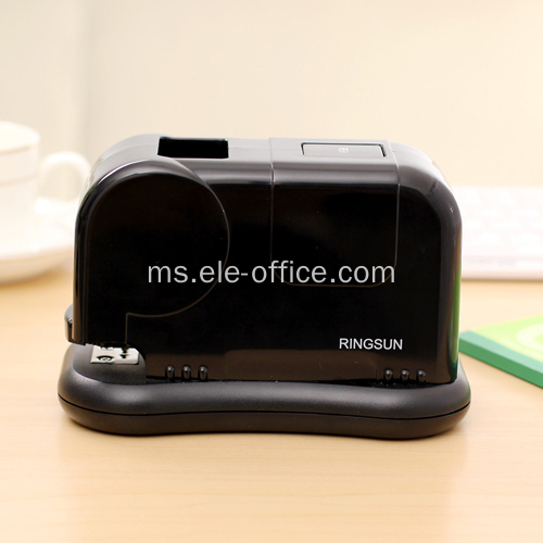 Pejabat Electric Stapler Mesin, hitam