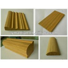 Modelagem de design de janelas e portas de madeira