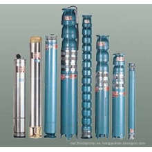 Serie Qj de bomba de agua sumergida de pozo profundo