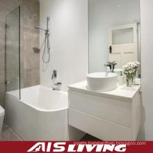 High Gloss Lacquer Bathroom Cabinets Mirror Vanity (AIS-B011)