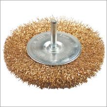 Alimentación herramientas accesorios alambre rueda cepillo para pulido Sierra