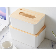 toilet paper napkins plastic European wooden box