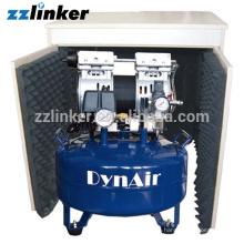 ZZLINKER Hochwertiges Ölfreies Kompressor Luftverdichter Dental
