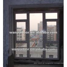 Famosa moderna janela de painel fixo de pvc
